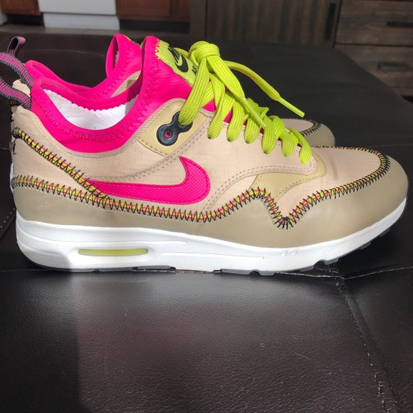 Nike Air Max 1 Ultra 2. Mushroom Deadly Pink RARE
